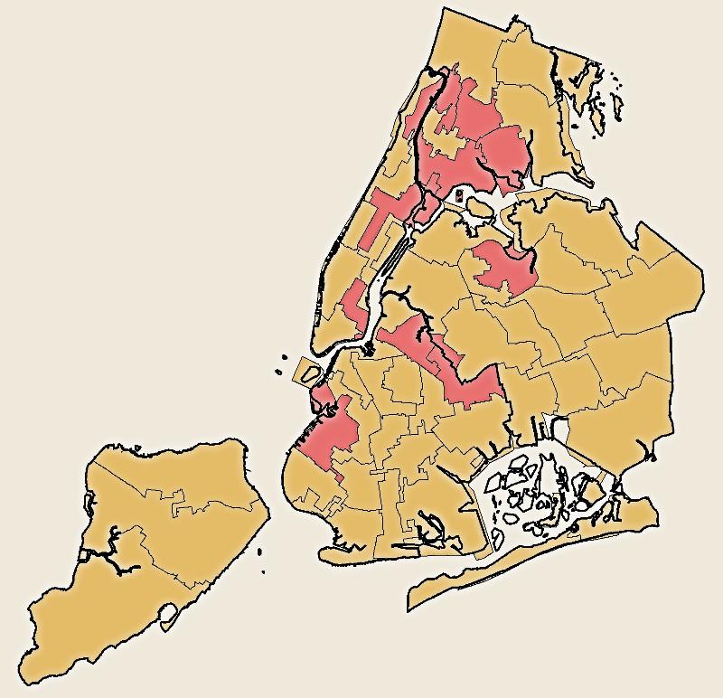 NYC Districting Cover Map