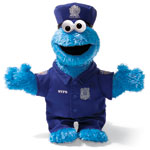 Cookie Monster NYPD Officer