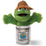 Oscar the Grouch Sanitation Worker